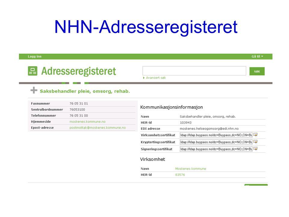 NHN-Adresseregisteret