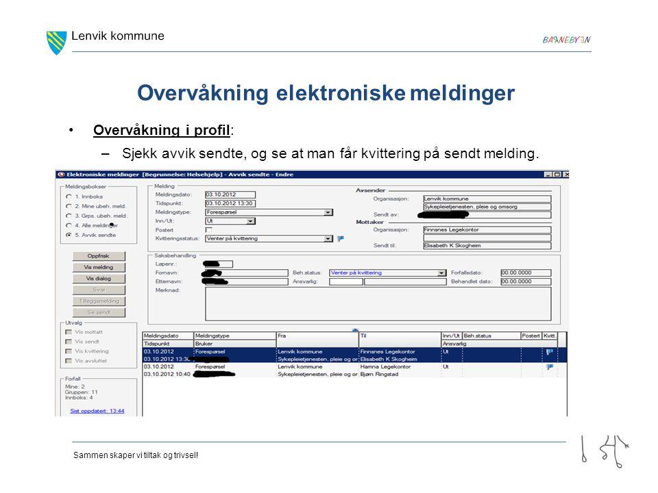 Overvåkning elektroniske meldinger