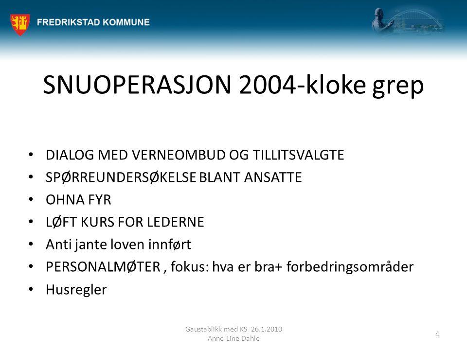 SNUOPERASJON 2004-kloke grep