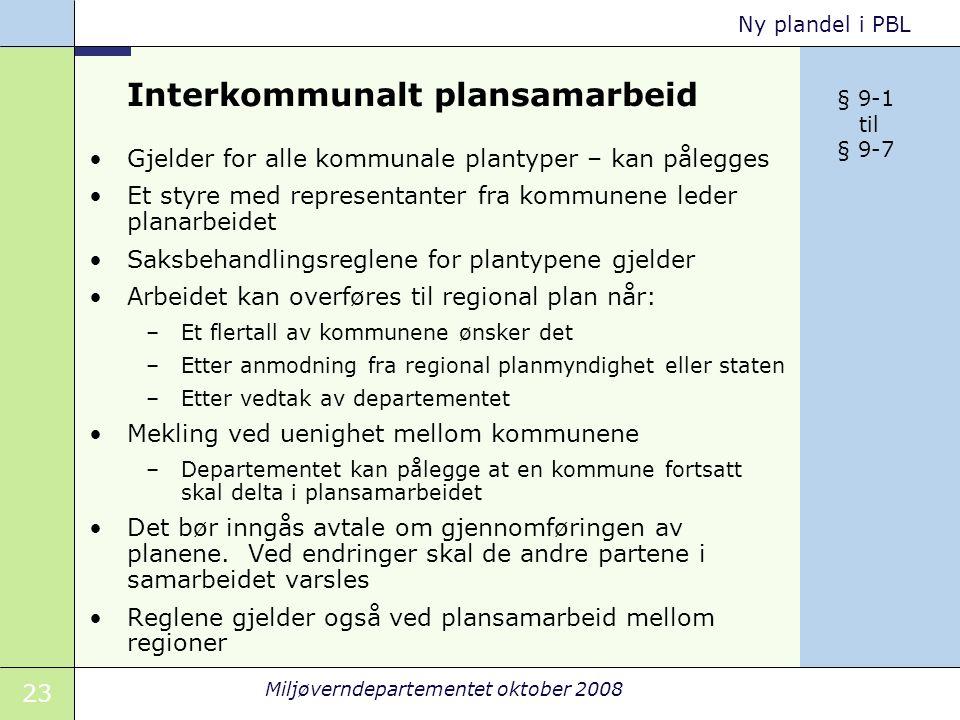 Interkommunalt plansamarbeid