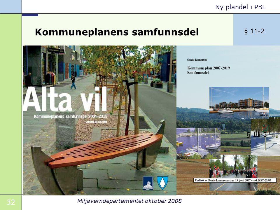 Kommuneplanens samfunnsdel