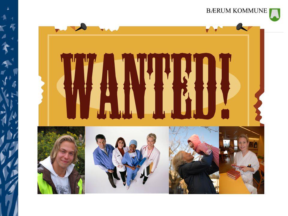 Bærum kommune har et stort rekrutteringsbehov