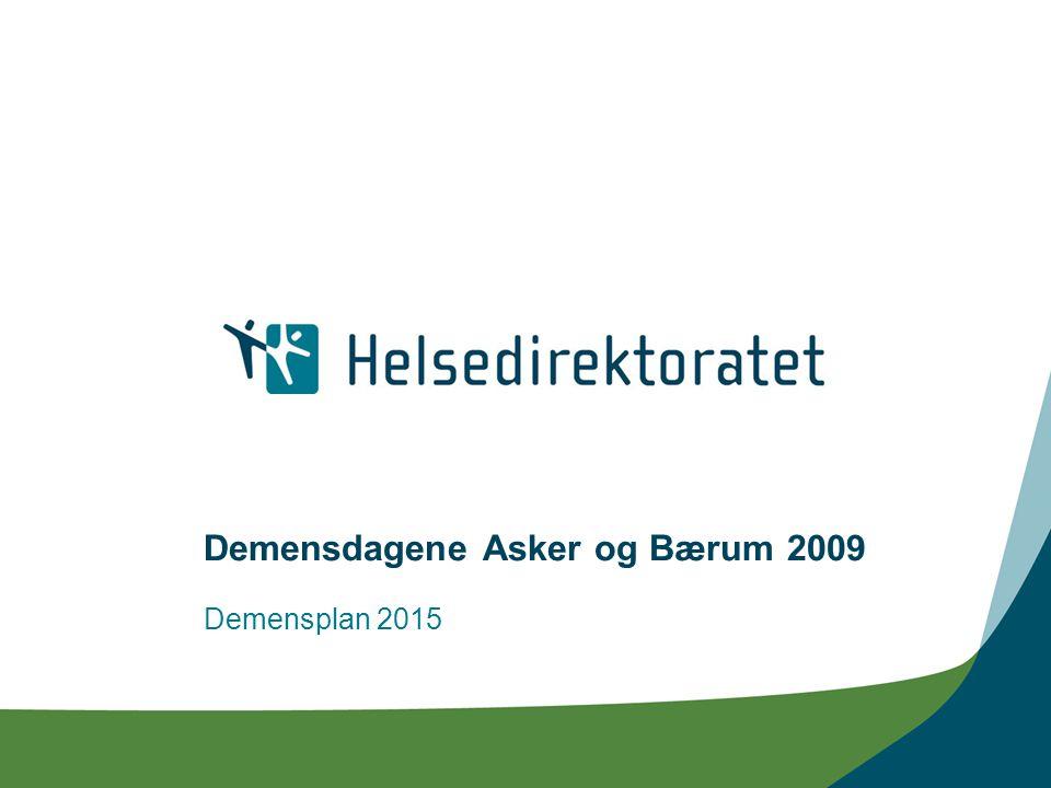 Demensdagene Asker og Bærum 2009