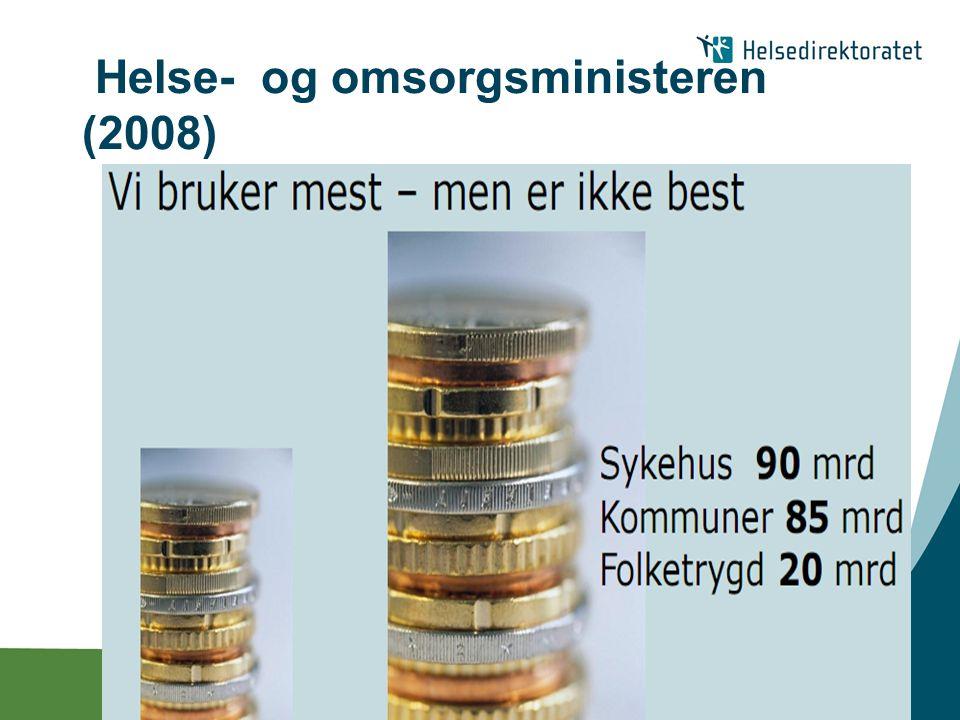 Helse- og omsorgsministeren (2008)