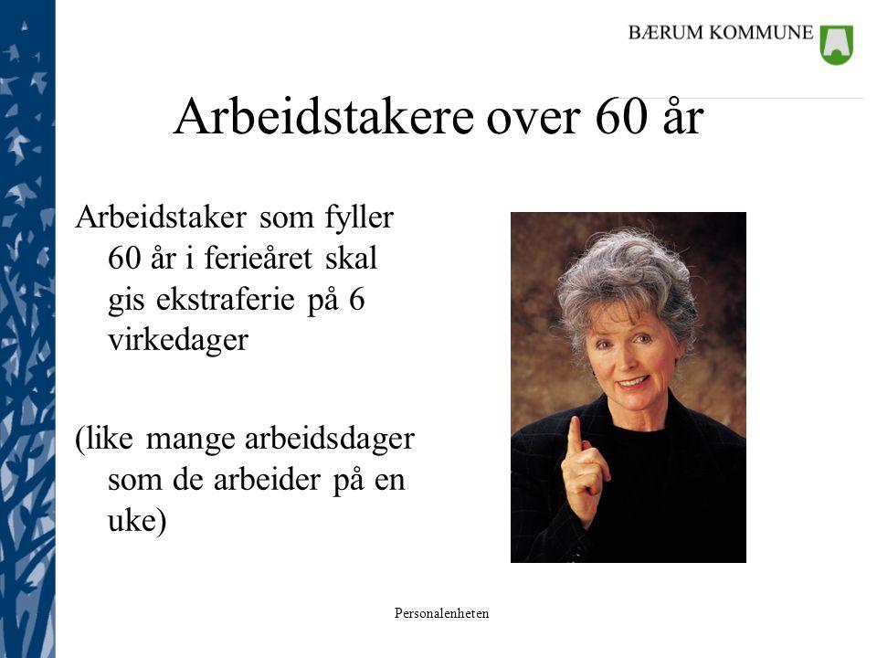 Arbeidstakere over 60 år