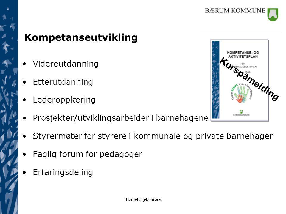 Kompetanseutvikling Kurspåmelding Videreutdanning Etterutdanning