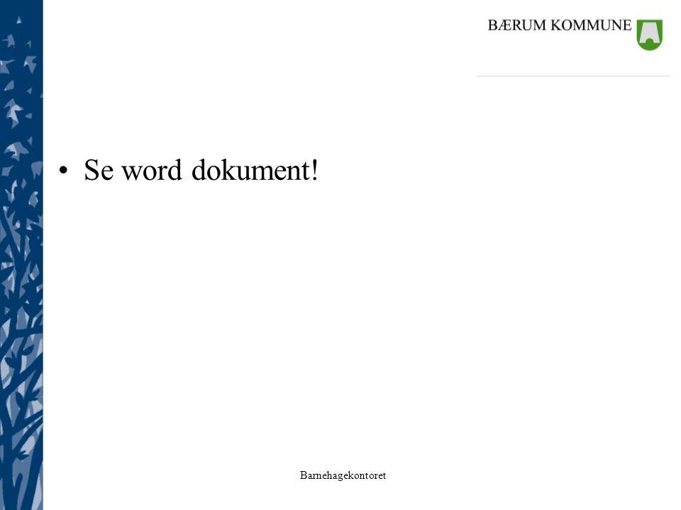 Se word dokument!