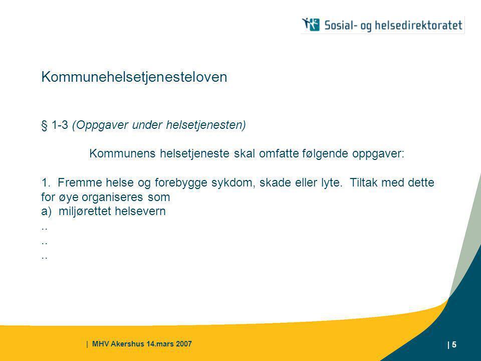 Kommunehelsetjenesteloven § 1-3 (Oppgaver under helsetjenesten)