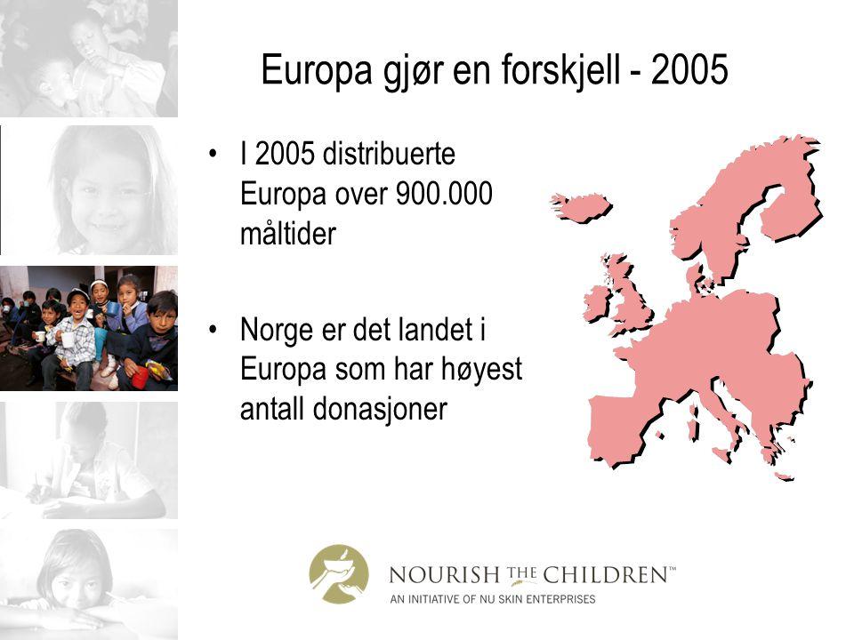Europa gjør en forskjell - 2005