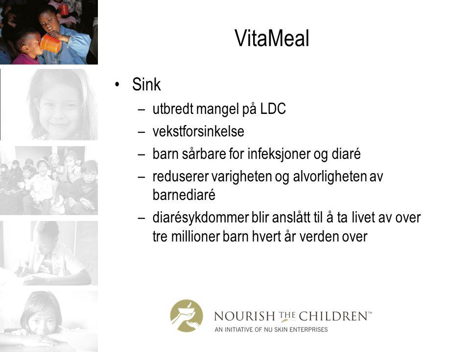 VitaMeal Sink utbredt mangel på LDC vekstforsinkelse
