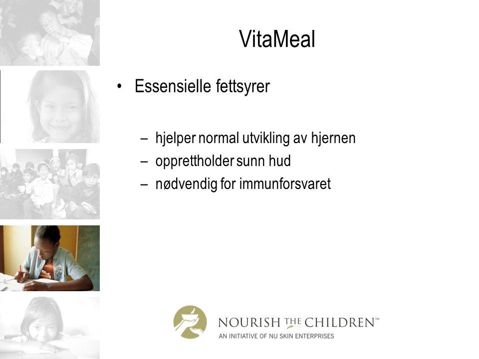 VitaMeal Essensielle fettsyrer hjelper normal utvikling av hjernen