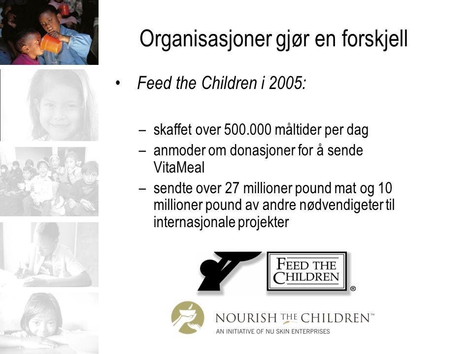 Organisasjoner gjør en forskjell