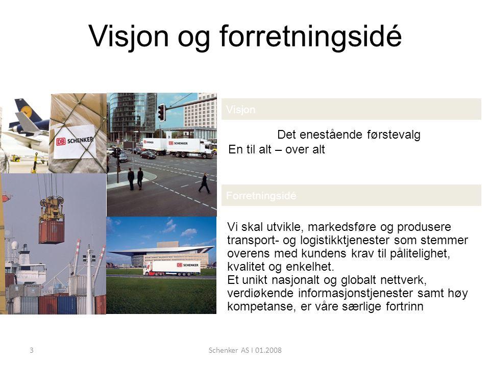 Visjon og forretningsidé