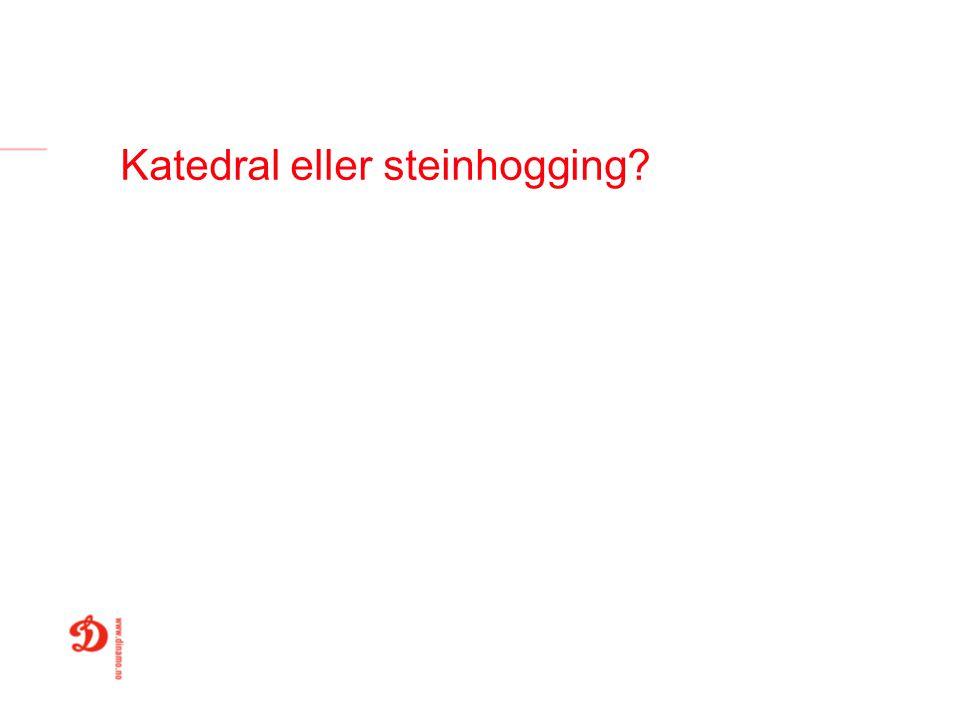 Katedral eller steinhogging