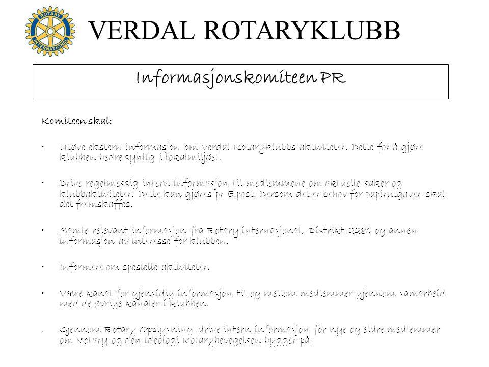 Informasjonskomiteen PR