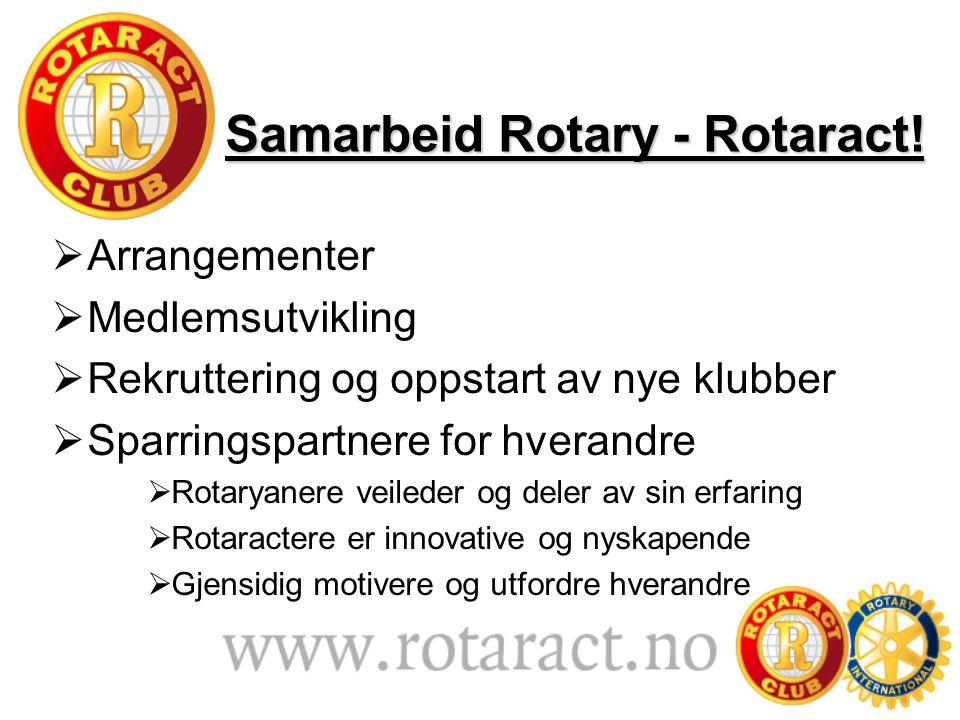 Samarbeid Rotary - Rotaract!