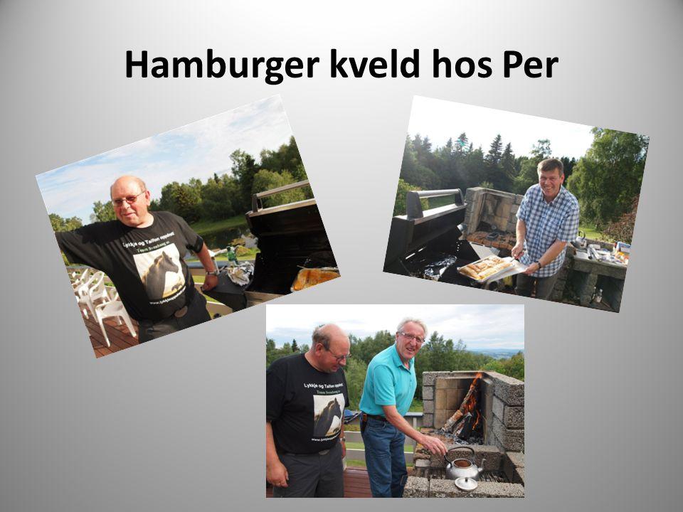 Hamburger kveld hos Per