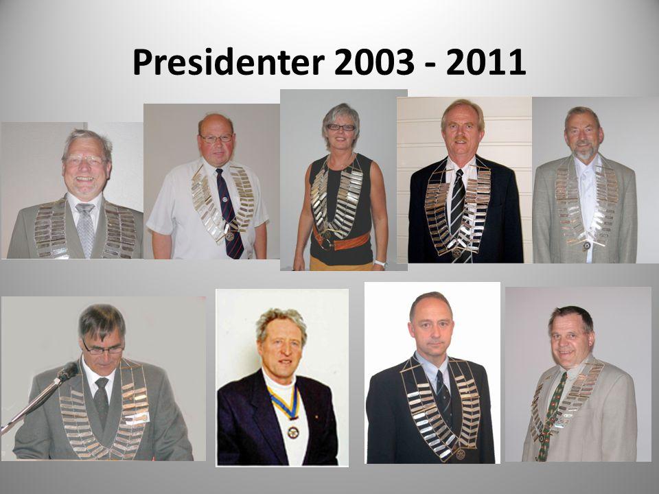 Presidenter 2003 - 2011