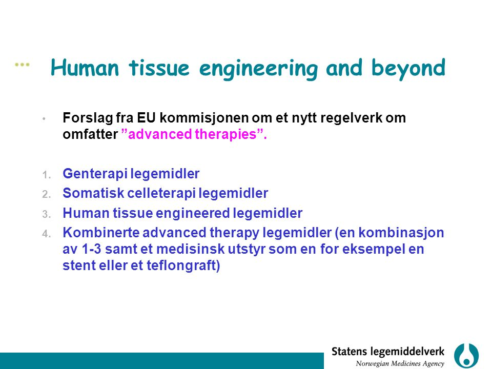 Human tissue engineering and beyond