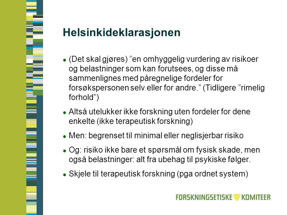 Helsinkideklarasjonen