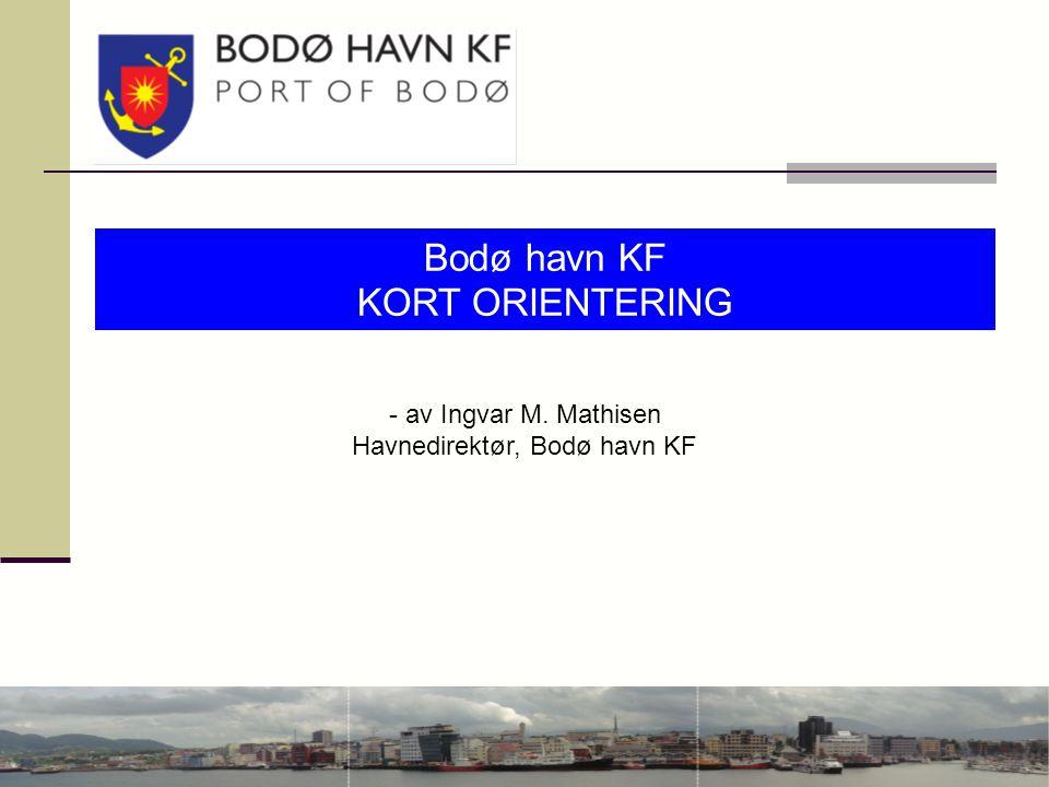 Havnedirektør, Bodø havn KF