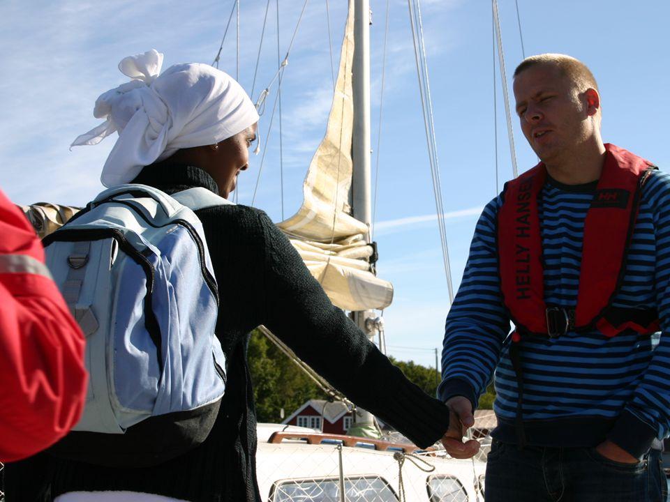 Bilde fra Tjen høsten 2005 – et diakonalt ungdomsprosjekt i Kristiansand