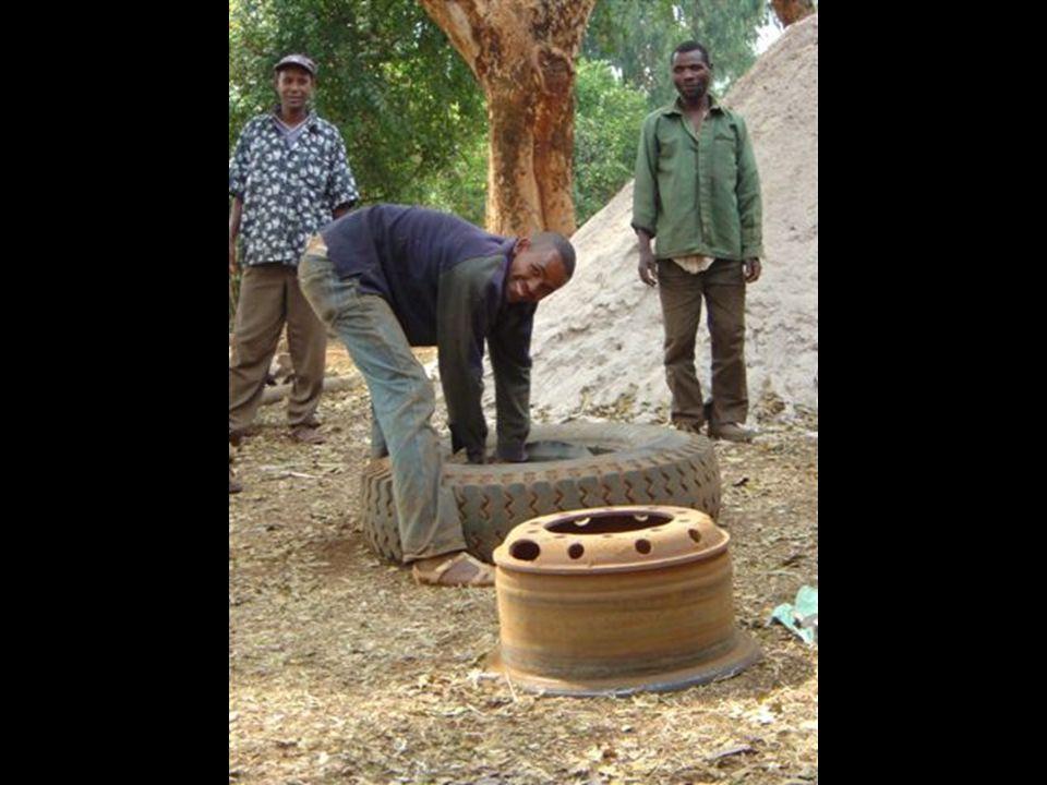 Lappe bildekk. Etiopia NMS Fotoarkiv