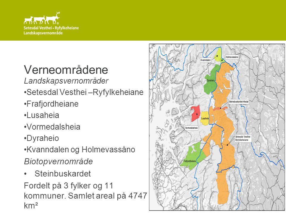 Verneområdene Biotopvernområde Steinbuskardet