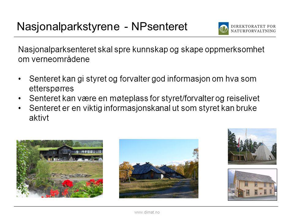 Nasjonalparkstyrene - NPsenteret