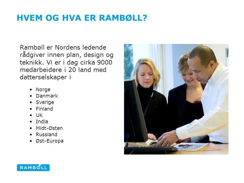 Hvem og hva er Rambøll