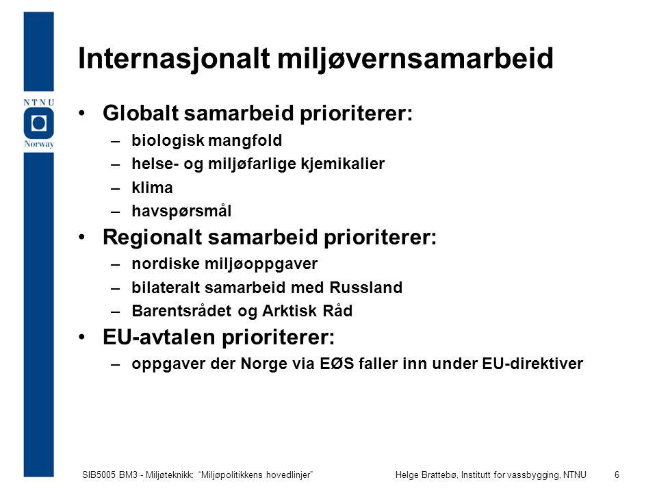 Internasjonalt miljøvernsamarbeid