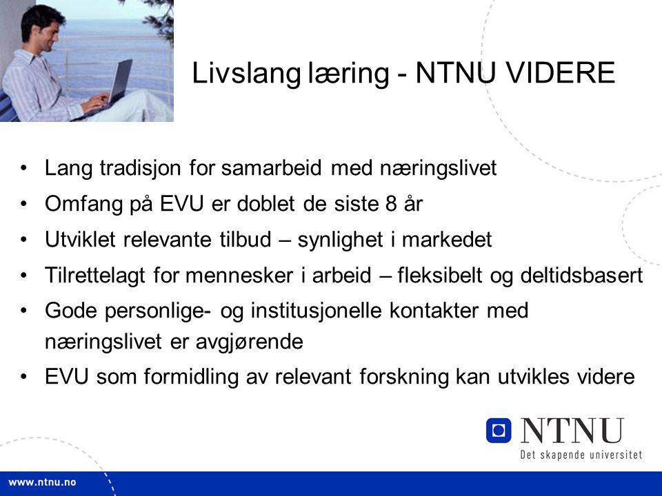 Livslang læring - NTNU VIDERE