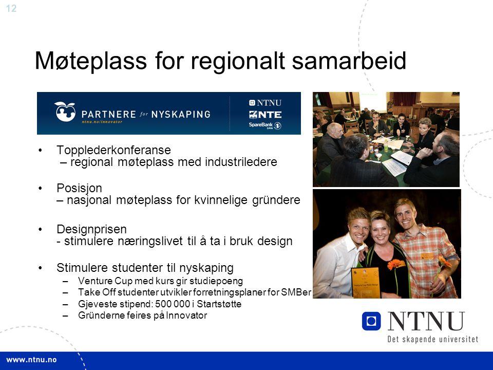Møteplass for regionalt samarbeid