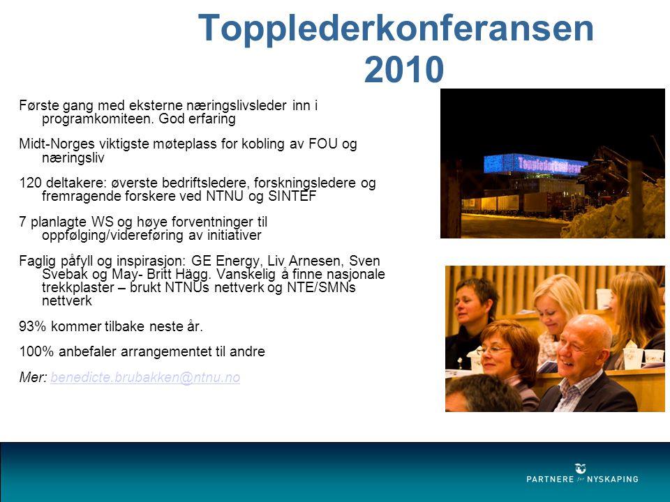 Topplederkonferansen 2010
