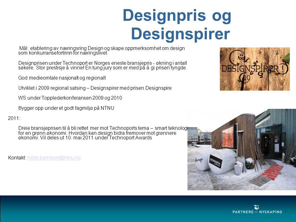 Designpris og Designspirer
