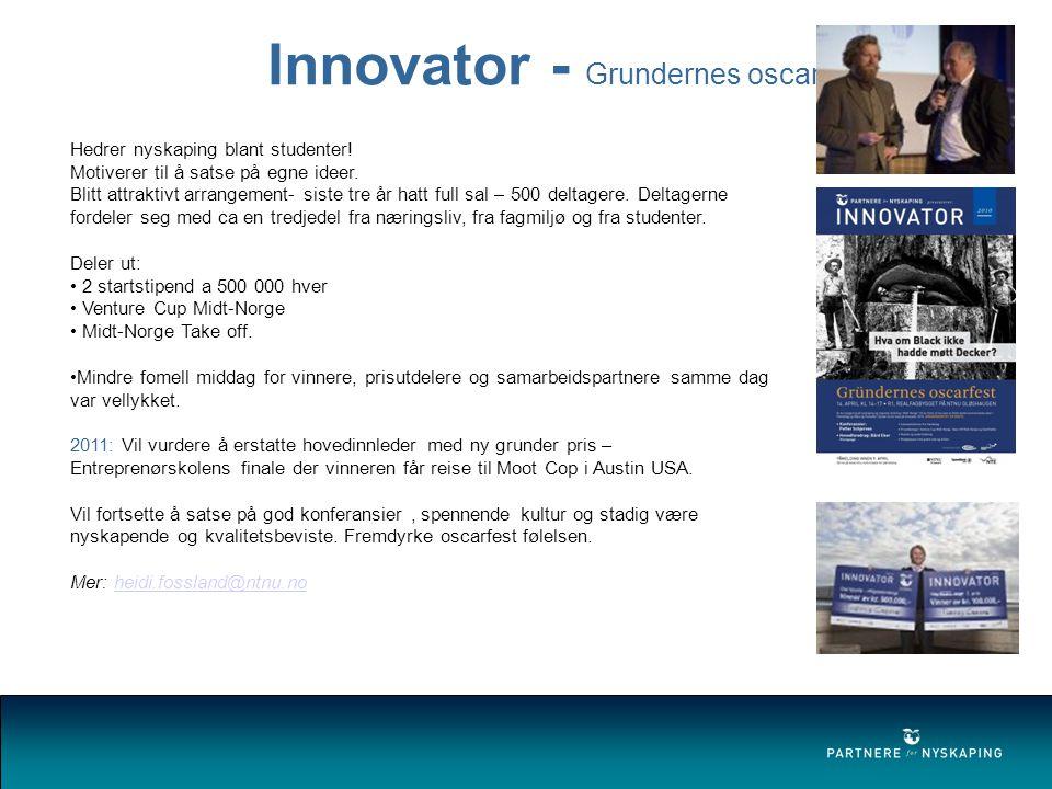 Innovator - Grundernes oscarfest