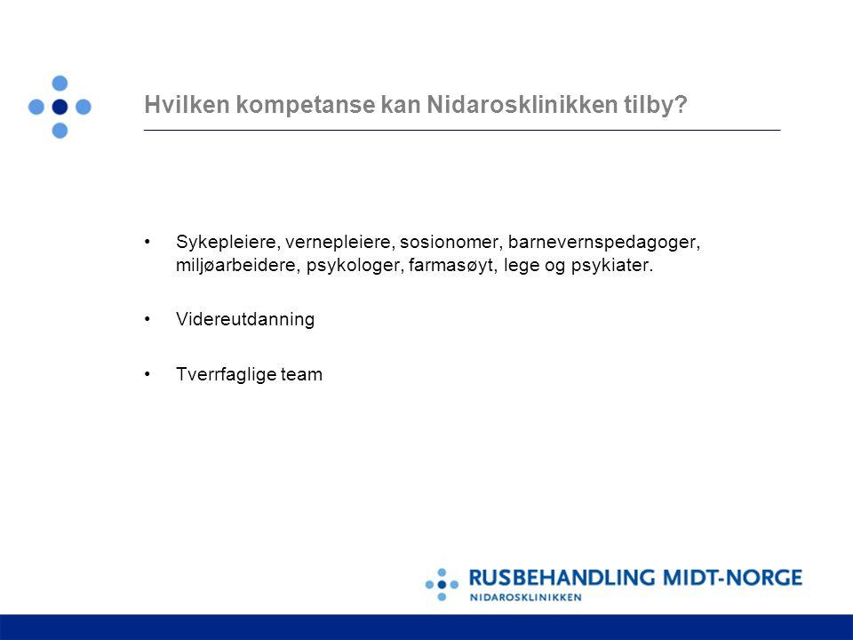Hvilken kompetanse kan Nidarosklinikken tilby