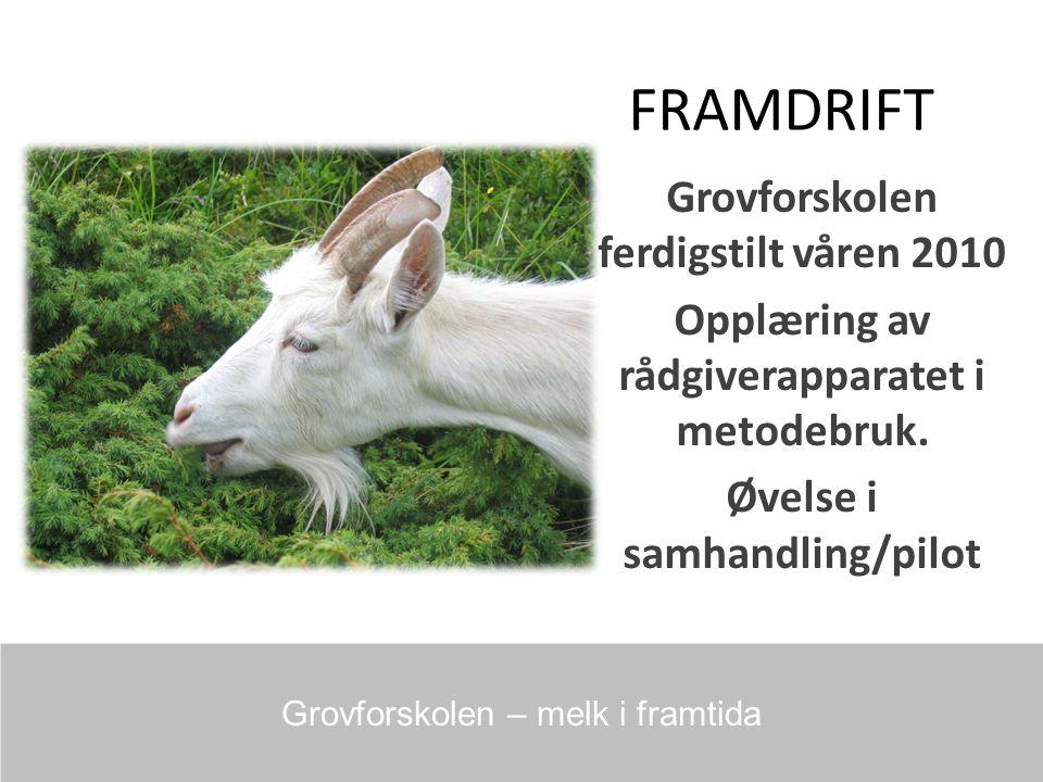 FRAMDRIFT Grovforskolen ferdigstilt våren 2010