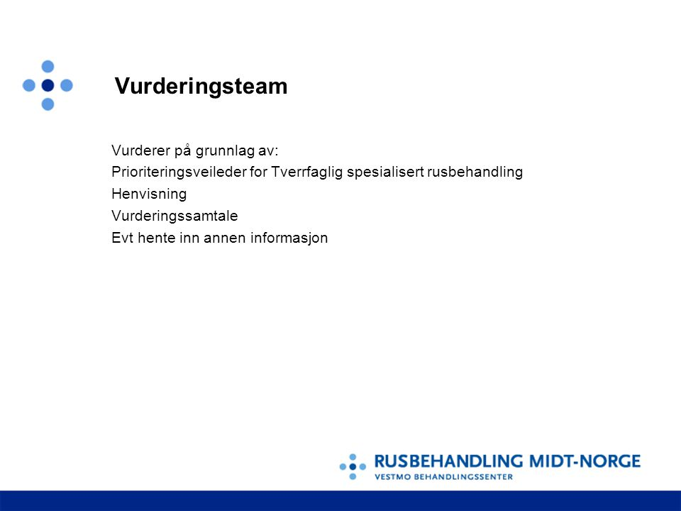 Vurderingsteam