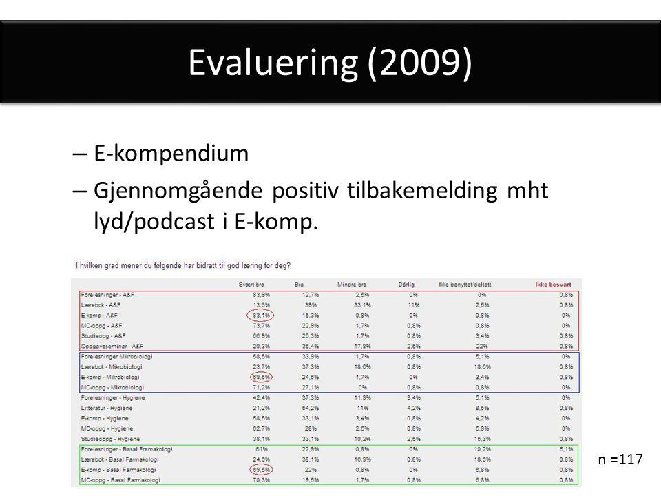 Evaluering (2009) E-kompendium
