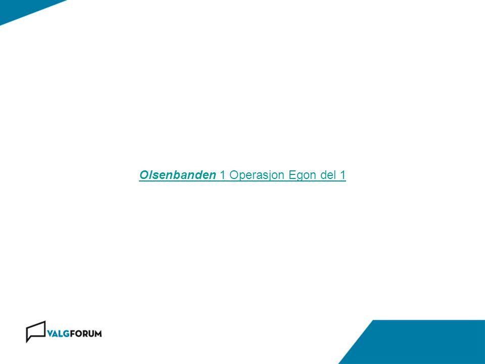 Olsenbanden 1 Operasjon Egon del 1