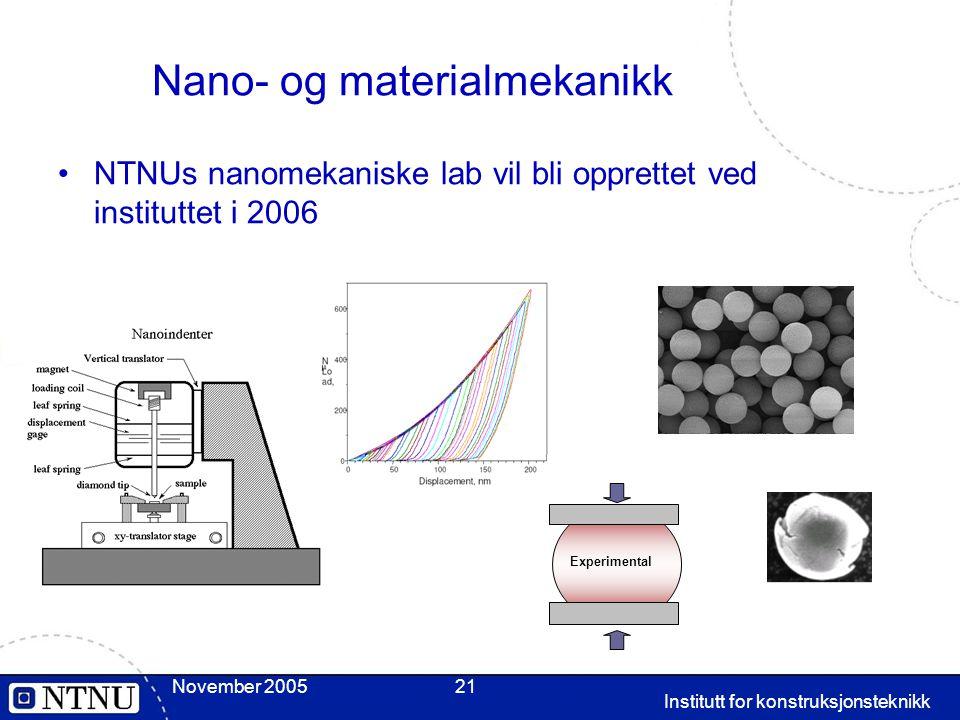 Nano- og materialmekanikk