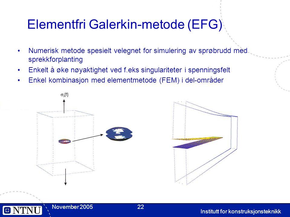 Elementfri Galerkin-metode (EFG)