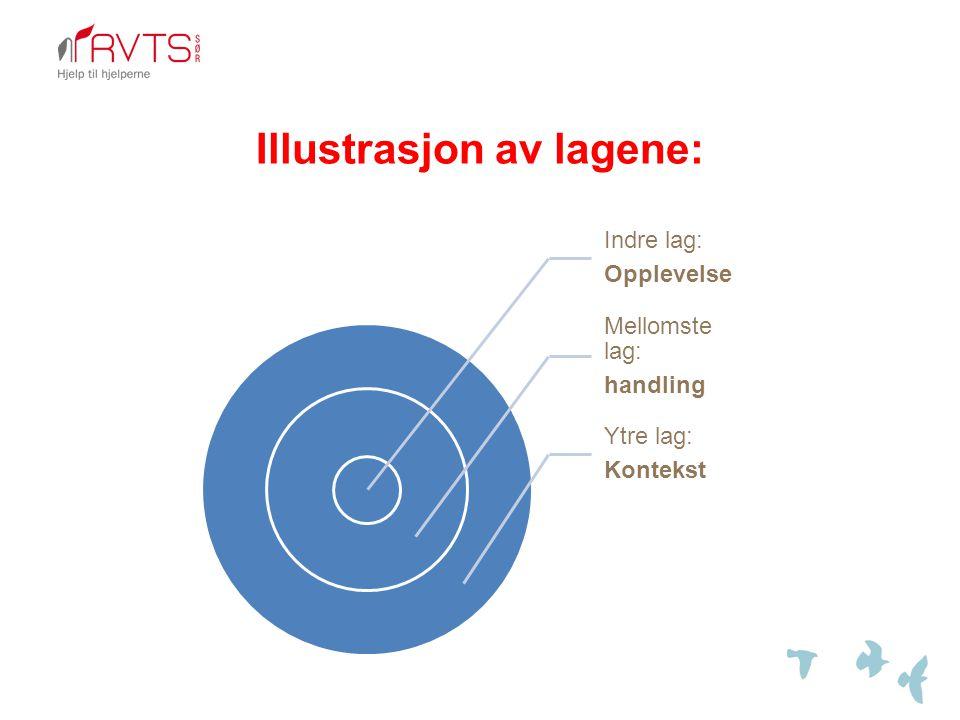 Illustrasjon av lagene: