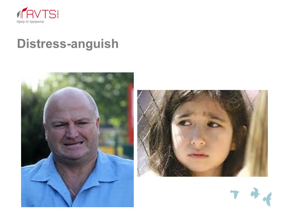 Distress-anguish
