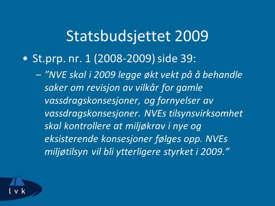 Statsbudsjettet 2009 St.prp. nr. 1 (2008-2009) side 39: