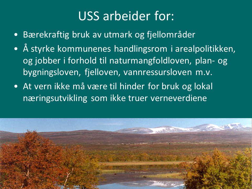 USS arbeider for: Bærekraftig bruk av utmark og fjellområder