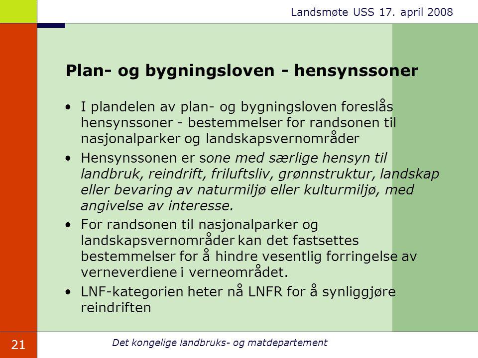 Plan- og bygningsloven - hensynssoner