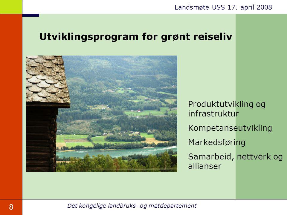 Utviklingsprogram for grønt reiseliv
