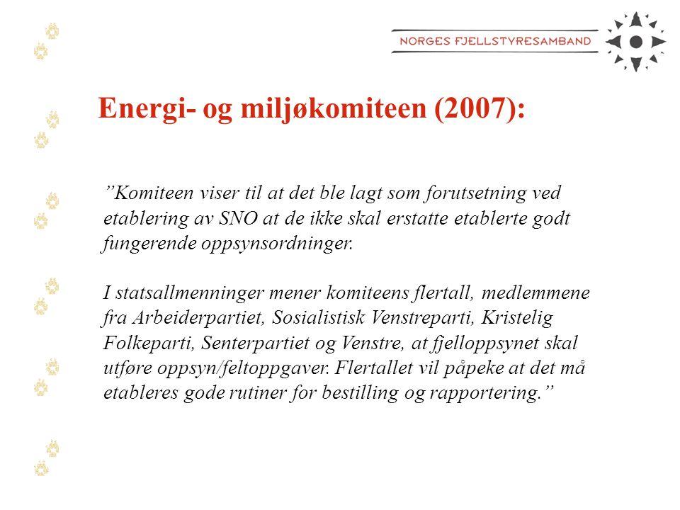 Energi- og miljøkomiteen (2007):